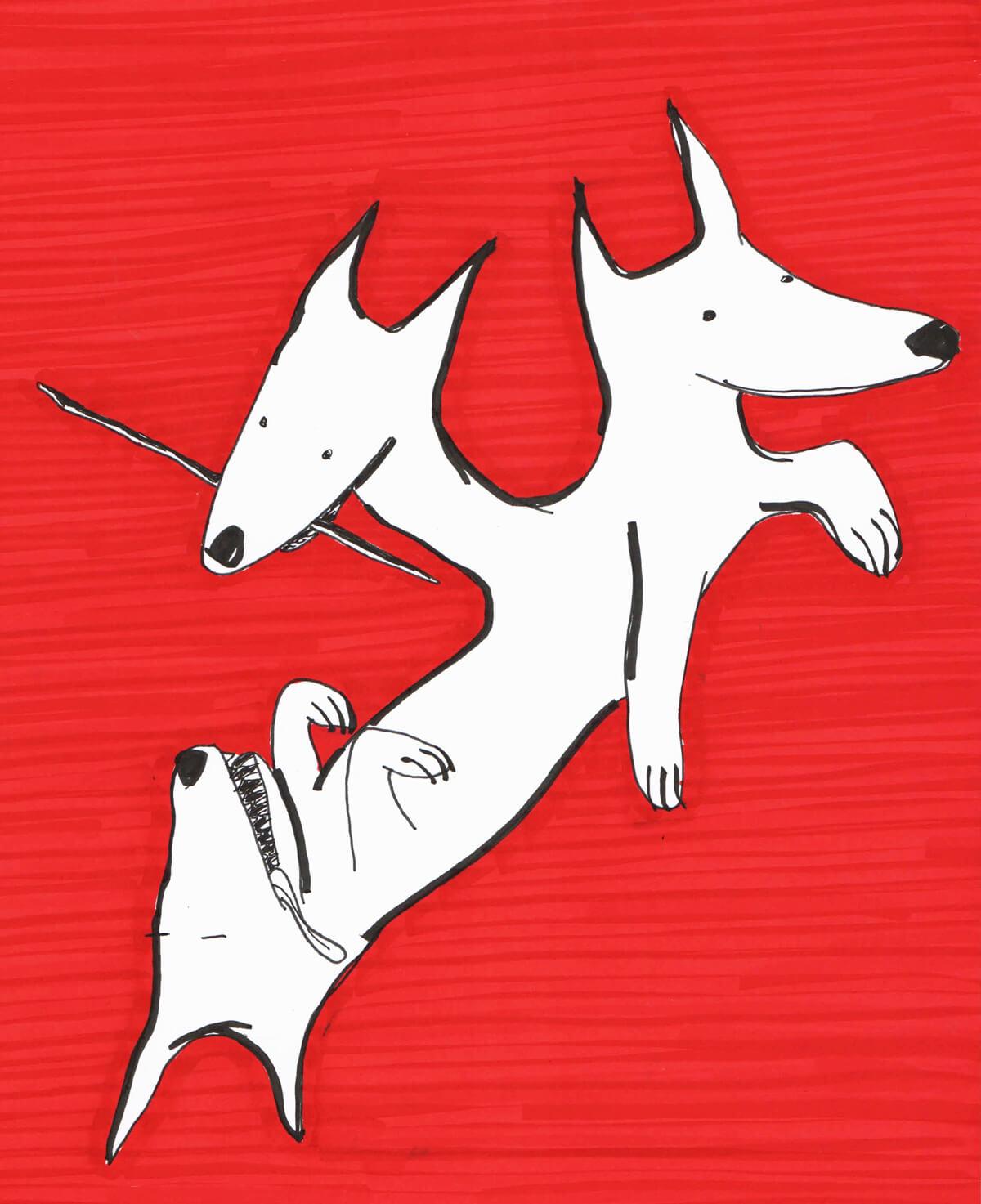 Microrrelatos caninos - Bestia