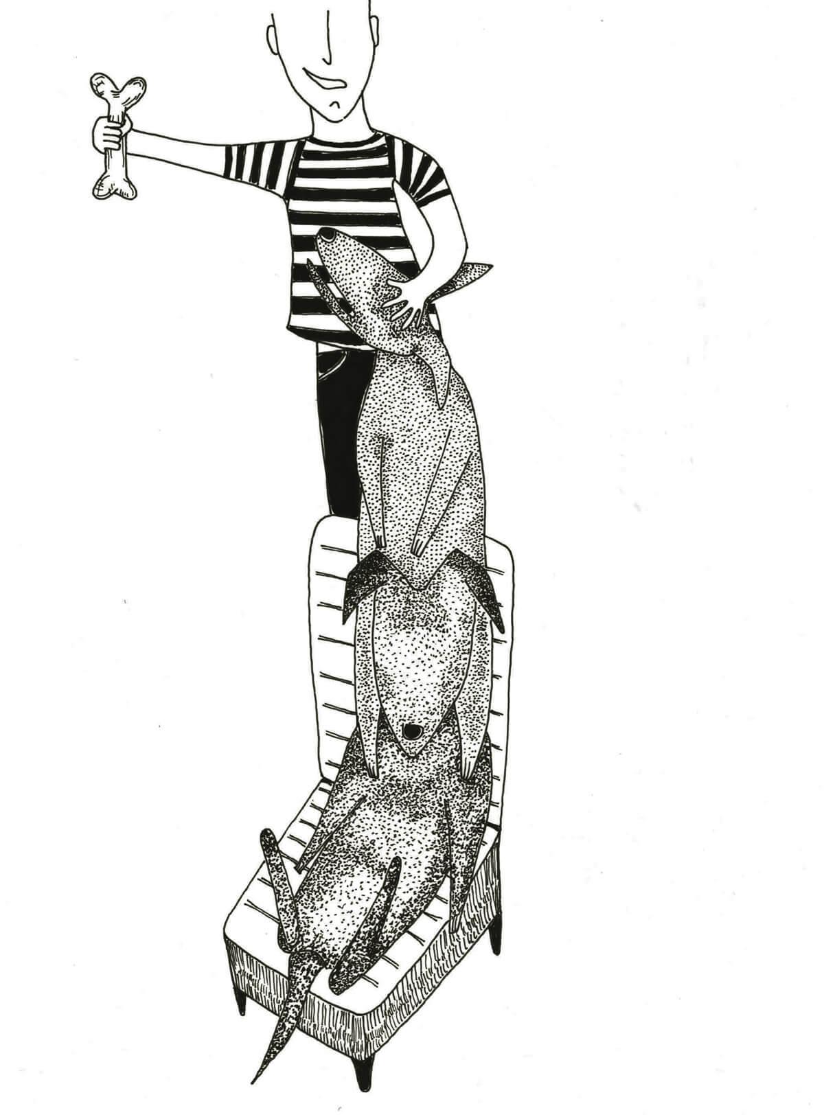 Microrrelatos caninos - Psicoanálisis