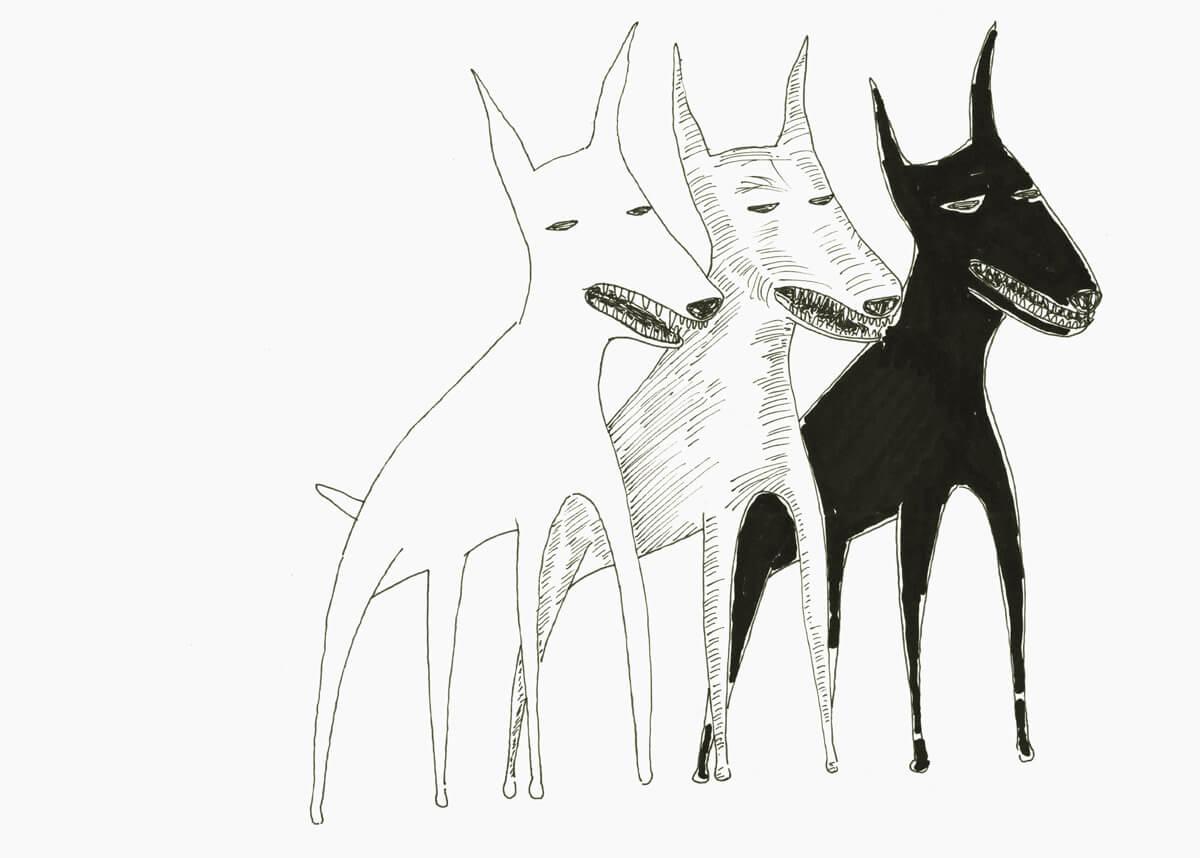 Microrrelatos caninos - De película