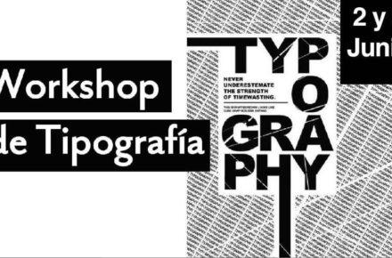 Workshop de tipografía