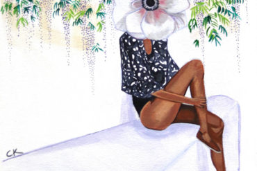Claire Kendall - Flora - Apócrifa Art Magazine