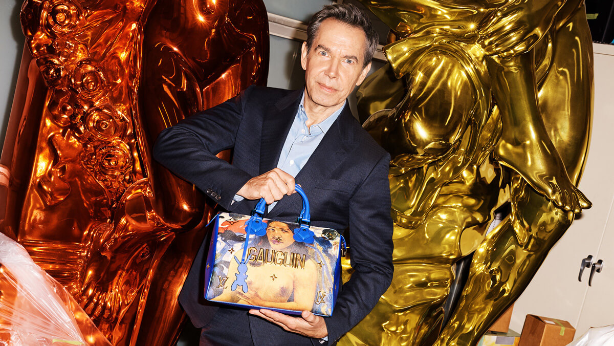 Reciclar - Jeff Koons - Louis Vuitton