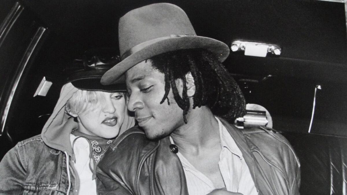 Madonna y Jean Michel Basquiat