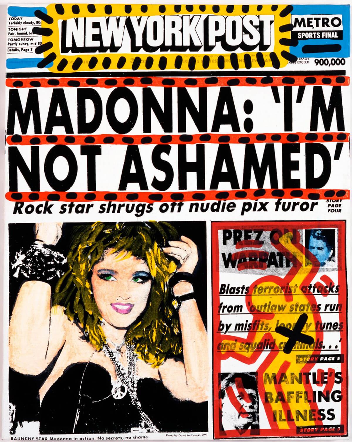 Keith Haring, Madonna