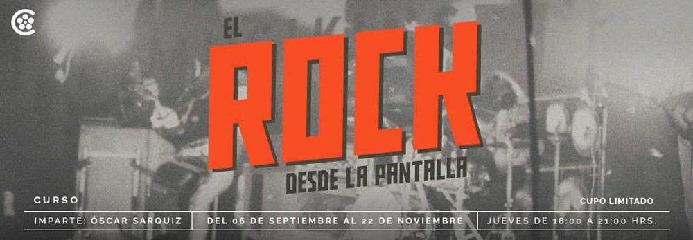 Rock desde la pantalla - Cineteca Nacional