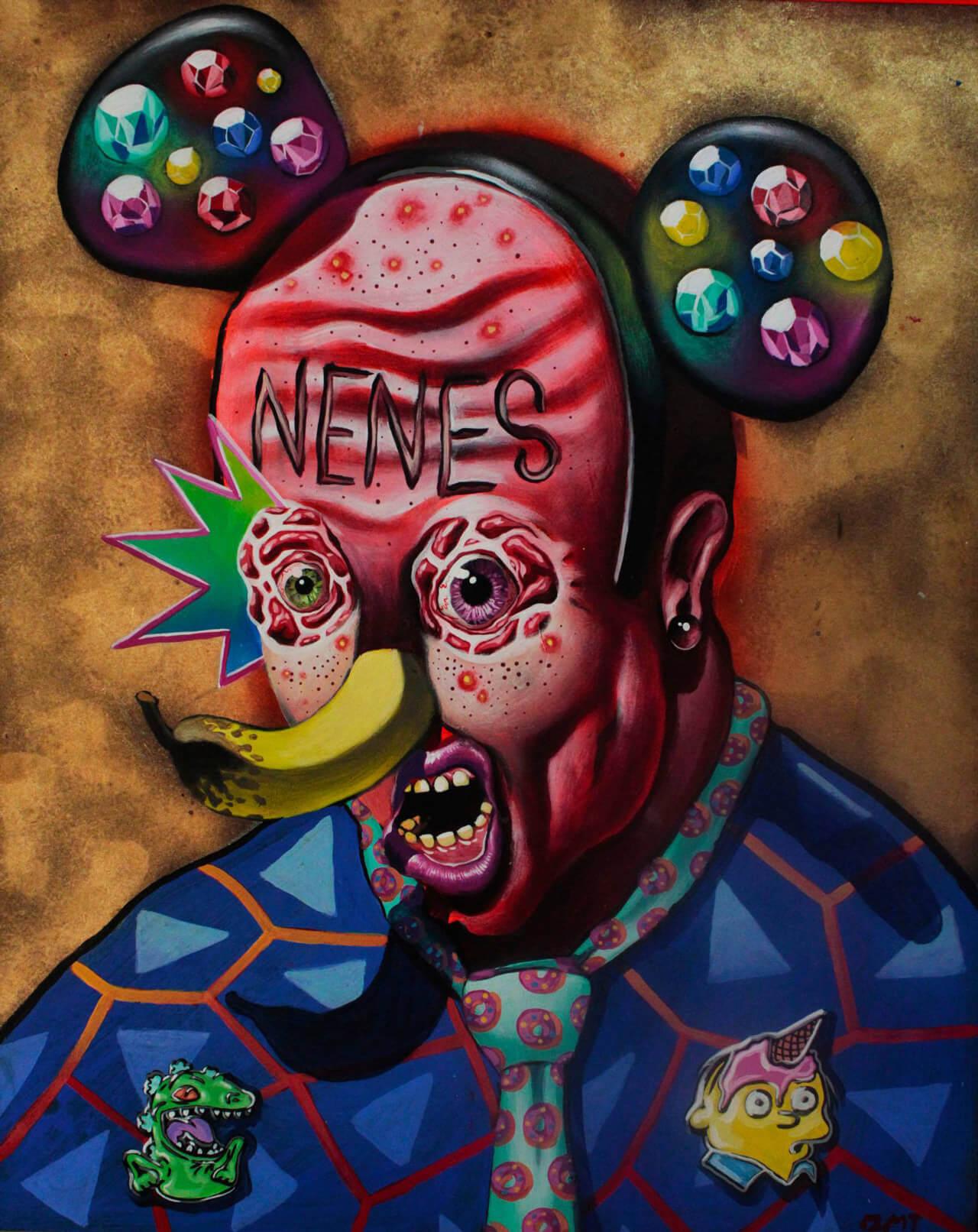 Óscar Ortega, sátira surrealista-05