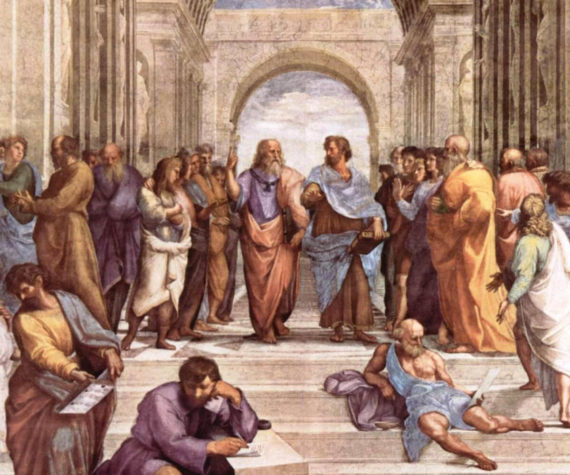 Rafael, La escuela de Atenas, 1512.
