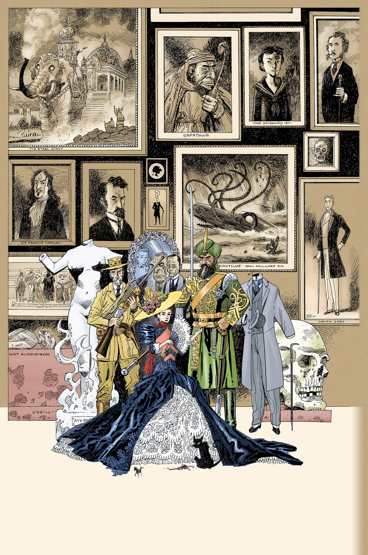 Alan Moore, the league of extraordinary gentlemen