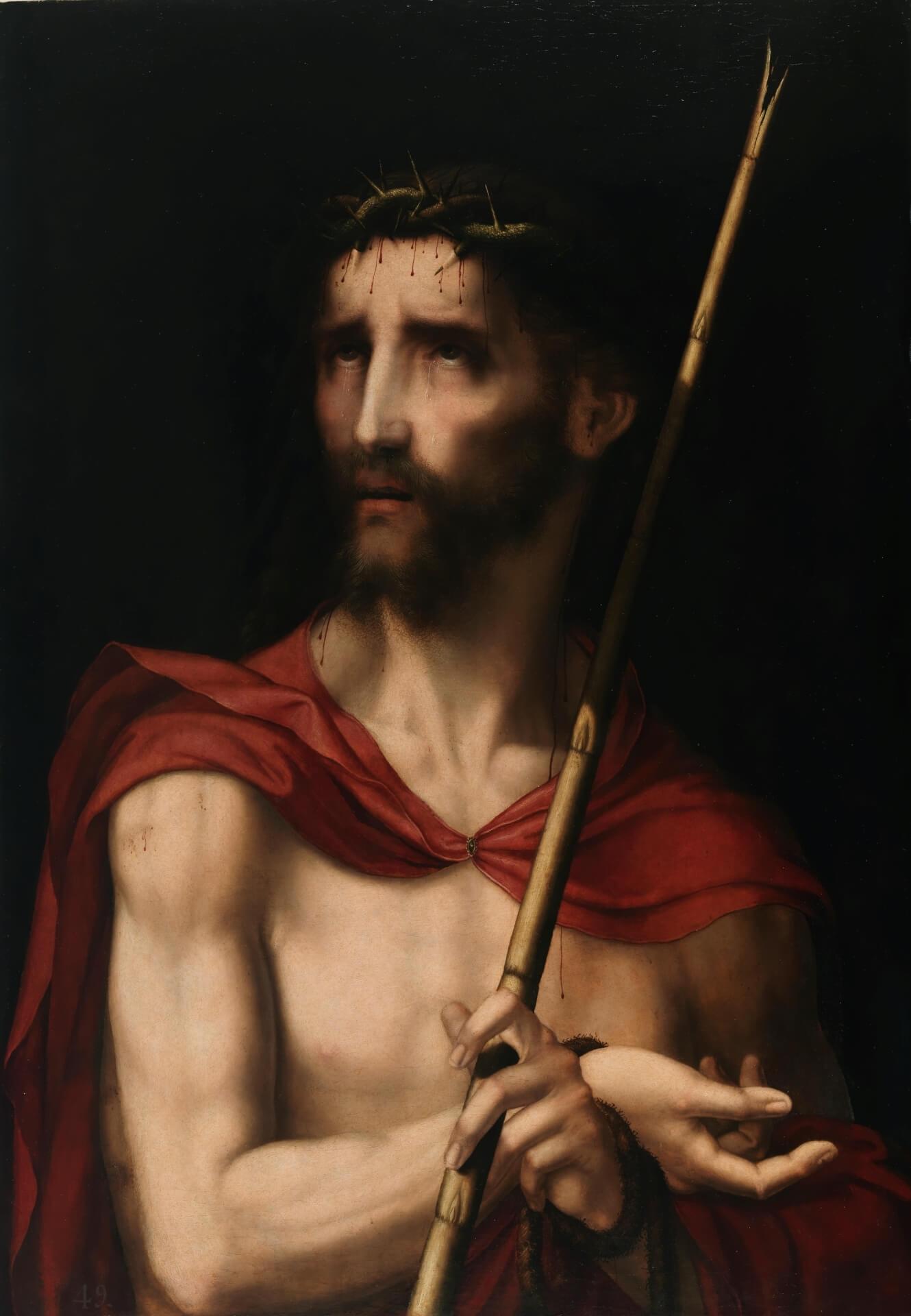 """Ecce homo, Luis de Morales """"el Divino"""": Museo del Prado."""