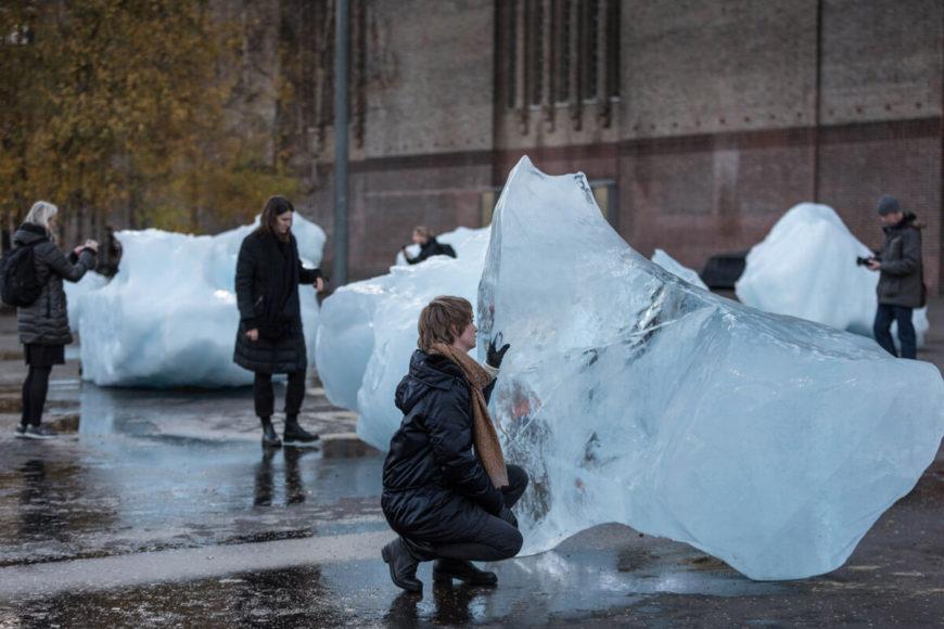 Olafur Eliasson - reloj de hielo