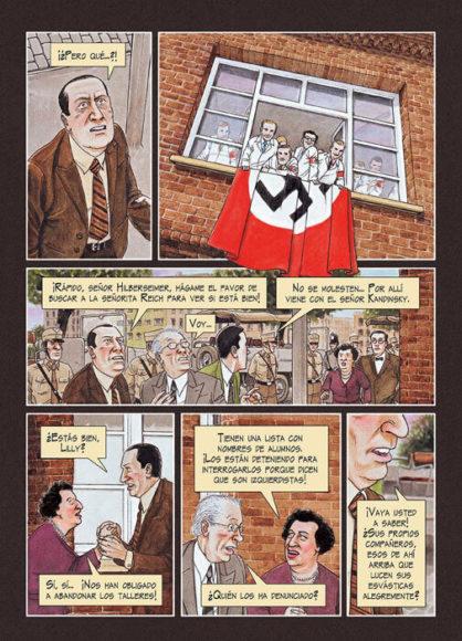Mies van der Rohe cómic
