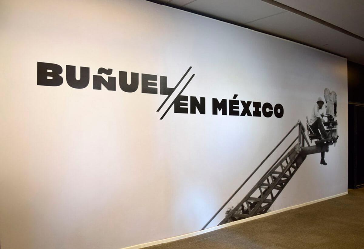 Exposición de Luis Buñuel en México, Cineteca Nacional